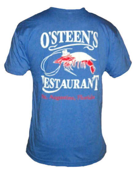 blue o'steens t-shirt